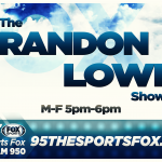 Watch the Brandon Lowe Show! Right here!