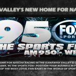 Nascar on 95 The Sports Fox