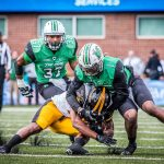 Marshall LB Chase Hancock goes from walk-on to team leader