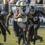 Defense, Run Game Keep Herd Perfect on Road
